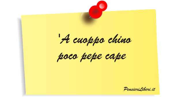 I più famosi proverbi napoletani, con traduzione